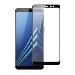 فول گلس فول چسب سامسونگ Full Glass Samsung Galaxy A8 2018