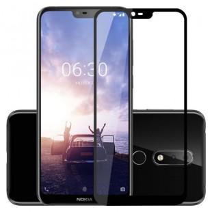 فول گلس فول چسب نوکیا Full Glass Nokia 5.1 Plus