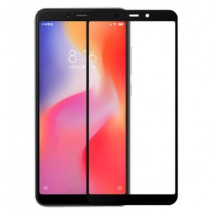 فول گلس فول چسب شیائومی Full Glass Xiaomi Redmi 6