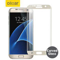 محافظ LCD شیشه ای پوشش منحنی Glass Screen Protector for Samsung Galaxy S7 Edge