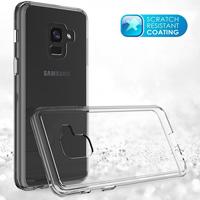 قاب ژله ای پشت طلقی Talcous Case Samsung Galaxy A8 2018