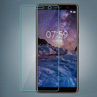 محافظ LCD Glass Screen Protector.Guard Nokia Nokia 7 Plus