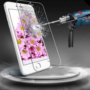 محافظ LCD شیشه ای Glass محاظ ضد ضربه شیشه ای Screen Protector.Guard for Apple iPhone 4.4s