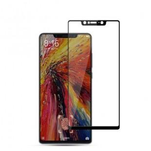 فول گلس فول چسب شیائومی Full Glass Xiaomi Mi 8