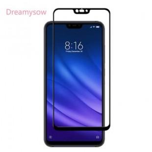 فول گلس فول چسب شیائومی Full Glass Xiaomi Mi 8 Lite
