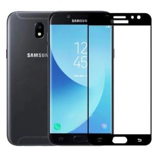 فول گلس تمام چسب گوشی سامسونگ Full Glass Samsung Galaxy J330-J3 Pro