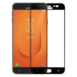 فول گلس تمام چسب گوشی سامسونگ Full Glass Samsung Galaxy J7 Prime 2