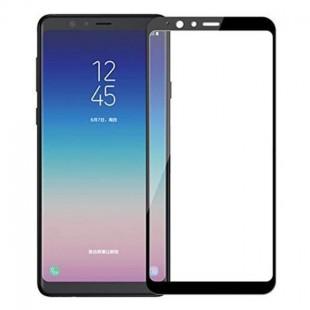 فول گلس تمام چسب گوشی سامسونگ Full Glass Samsung Galaxy A8 Star