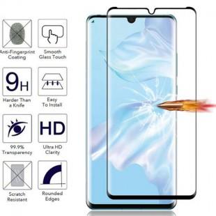 فول گلس تمام چسب گوشی هواوی Full Glass Huawei P30