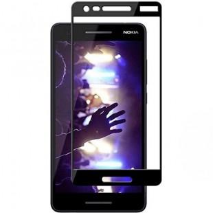 فول گلس تمام چسب گوشی نوکیا Full Glass Nokia 2.1