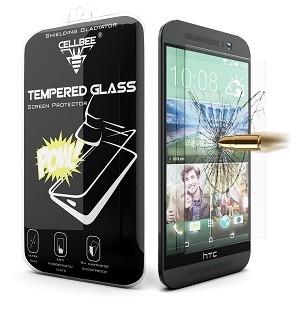 قاب شیشه ای Glass محاظ ضد ضربه شیشه ای Screen Protector.Guard for HTC One M9