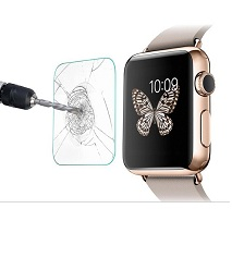 محافظ LCD شیشه ای Glass Screen Protector.Guard for Apple Watch 38mm