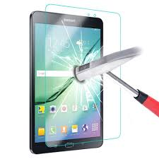 محافظ LCD شیشه ای Glass Screen Protector.Guard for Samsung Galaxy Tab4 8.0 T330