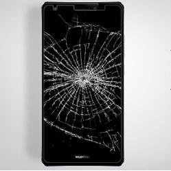 محافظ LCD شیشه ای Glass Screen Protector.Guard for Huawei Mate S