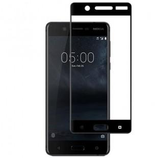 فول گلس تمام چسب گوشی نوکیا Full Glass Nokia 5