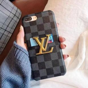 قاب چرمی لویز ویتون Louis Vuitton Leather Case iPhone X/Xs