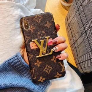 قاب چرمی لویز ویتون Louis Vuitton Leather Case iPhone Xr