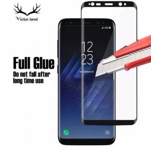 فول گلس تمام چسب گوشی سامسونگ Full Glass Samsung Galaxy Note 9