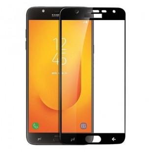 فول گلس تمام چسب گوشی سامسونگ Full Glass Samsung Galaxy J7 Due