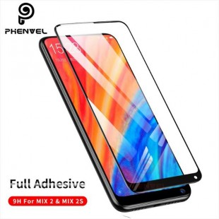فول گلس تمام چسب گوشی شیائومی Full Glass Xiaomi Mi Mix 2s