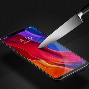فول گلس تمام چسب گوشی شیائومی Full Glass Xiaomi Mi 8 Se