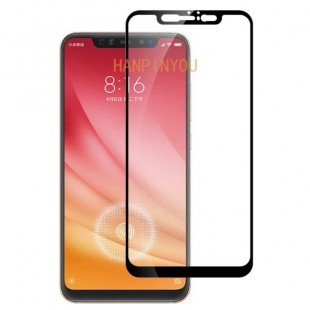 فول گلس تمام چسب گوشی شیائومی Full Glass Xiaomi Mi 8 Pro