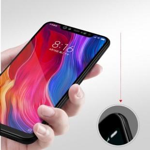 فول گلس تمام چسب گوشی شیائومی Full Glass Xiaomi Mi 8