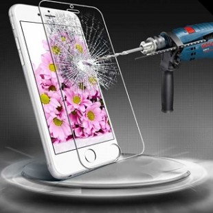 محافظ LCD شیشه ای Glass Screen Protector.Guard for HTC Desire 526