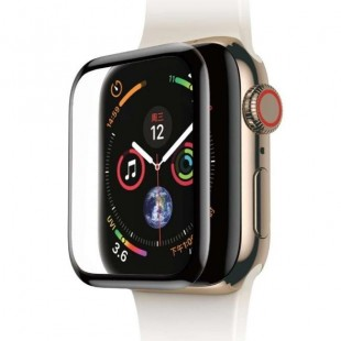 فول گلس شیشه ای قابل انعطاف Full Screen Curved Tempered Glass Film Apple Watch 44mm