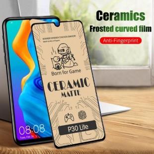 گلس سرامیکی براق هواوی Ceramic Full Glass Huawei P30 Lite