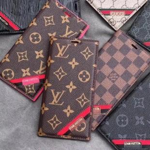 قاب چرمی LV Chanel Case For Iphone 7 Plus