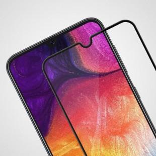 فول گلس تمام چسب گوشی سامسونگ Full Glass Samsung Galaxy A20s