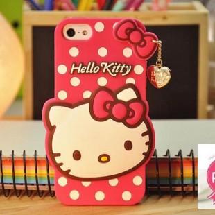 قاب ژله ای عروسکی هلوکیتی Hello Kitty Case for apple iPhone 5.5s