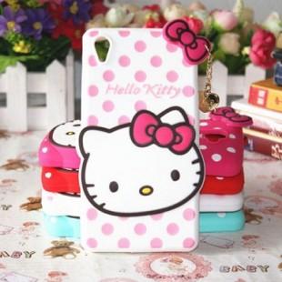 قاب ژله ای عروسکی هلوکیتی Hello Kitty Case for Sony Xperia Z