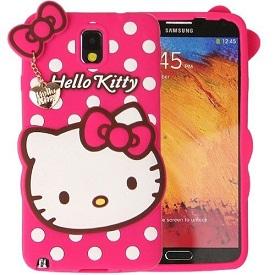 قاب ژله ای عروسکی هلوکیتی Hello Kitty Case for Samsung Galaxy Note 4