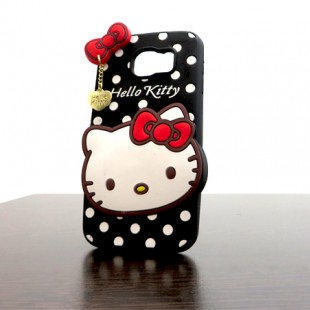 قاب ژله ای عروسکی هلوکیتی Hello Kitty Case for Samsung Galaxy S6