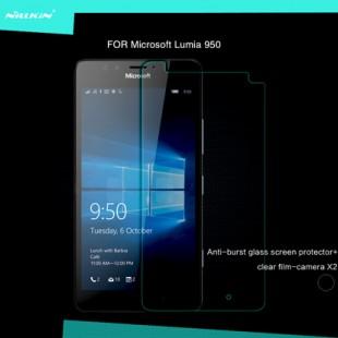 محافظ LCD شیشه ای Glass Screen Protector.Guard for Nokia Lumia 950