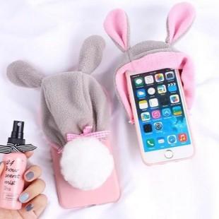 قاب زمستانی کلاه صورتی Pink Hat Case Nokia 5