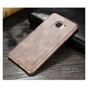 قاب چرمی X-Level Leather VINTAGE Case for Samsung Galaxy C7