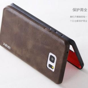 قاب چرمی X-Level Leather Case for Samsung Galaxy S6 Edge