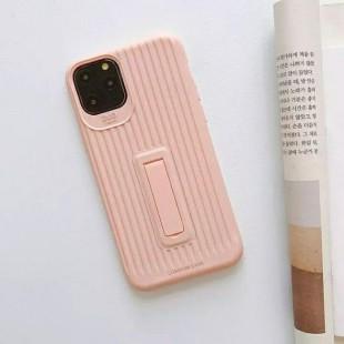 قاب رنگی طرح چمدونی با قابلیت استند شدن آیفون Stand Silicon Case iPhone 11 Pro