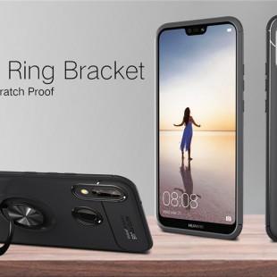 قاب ژله ای Magnet Ring Case Huawei P20 Lite