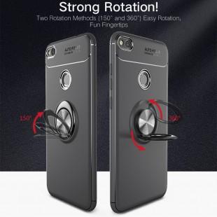 قاب ژله ای Magnet Ring Case Huawei P8 Lite 2017