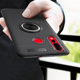 قاب ژله ای طرح چرم انگشتی Magnet Ring Case Huawei Nova 4