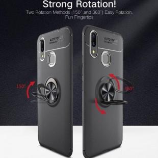 قاب ژله ای طرح چرم انگشتی Magnet Ring Case Huawei Nova 3i