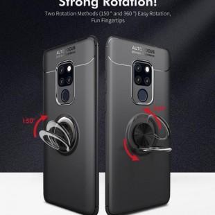 قاب ژله ای طرح چرم انگشتی Magnet Ring Case Huawei Mate 20