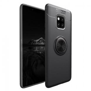 قاب ژله ای طرح چرم انگشتی Magnet Ring Case Huawei Mate 20 Pro