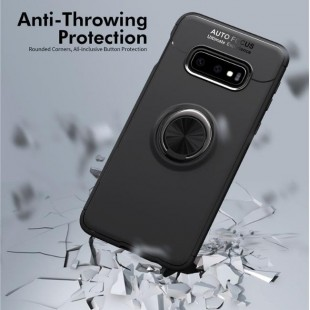 قاب ژله ای طرح چرم انگشتی Magnet Ring Case Samsung Galaxy S10e