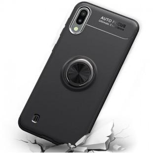 قاب ژله ای طرح چرم انگشتی Magnet Ring Case Samsung Galaxy M10