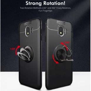 قاب ژله ای طرح چرم انگشتی Magnet Ring Case Samsung Galaxy J4